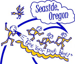 Seaside Beach Run Logo